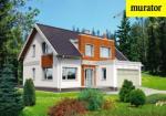 Проект одноэтажного дома с мансардой  - Муратор ЭЦ243