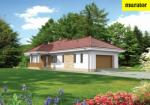 Проект одноэтажного дома   - Муратор Ц335